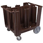 Cambro Adjustable Dish Caddy S-Series, Dark Brown