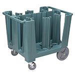 Cambro Adjustable Dish Caddy S-Series, Slate Blue
