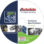 Autodata 2009 Technical Specifications CD