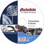 Autodata 2009 Timing Belt and Chains CD