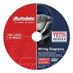 Autodata SRS/Airbag and ABS Wiring Diagrams DVD