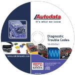 Autodata 2010 Diagnostic Trouble Codes CD