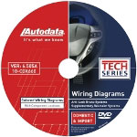 Autodata Color Wiring Diagram DVD for SRS and ABS