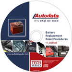 Autodata Battery Replacement Reset Procedure Cd