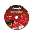 Autodata Information Service 3 Maintenance, Servicing and Diagnostic Repair DVD