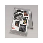 Eldon Wire Mesh Document Holder, Pewter
