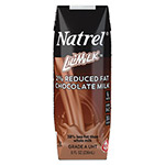 Natrel Milk, 2% Reduced Fat Chocolate Milk, 8 oz Bottle, 18/Carton