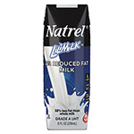 Natrel Milk, 2% Reduced Fat Milk, 8 oz Bottle, 18/Carton