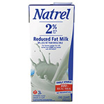 Natrel Milk, 2% Reduced Fat Milk, 32 oz Resealable Bottle, 12/Carton