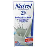 Natrel Milk, 2% Reduced Fat Milk, 32 oz Resealable Bottle