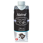 Natrel Indulgent Milk Coffee Drinks, Mocha Coffee, 11oz Prisma Bottle,12/Carton