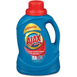 Ajax Liquid Laundry Detergent, Fresh Scent, 50 oz, 6/CT