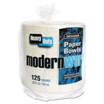AJM Packaging Modernware Roman Holiday Dinnerware, Bowl, 20oz, White, 125/pack, 2 Packs/carton