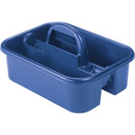 "Akro-Mills Blue Tote Caddy, 13 3/4"" x 18 1/4"" x 8 3/4"""