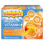 Alacer Corp. Immune Defense Drink Mix, Apricot Mango, 0.3 oz Packet, 30/Pack