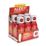 Emergen-C® Alert Energy Shot, Berry, 2.5 Oz, Box of 6