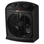 "Alera Heater Fan, 4 3/4""w x 8 1/4""d x 9 3/4""h, Black"