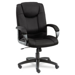 Alera Logan Series Mesh High Back Swivel/Tilt Chair, Black