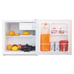 Alera 1.6 Cu. Ft. Refrigerator with Chiller Compartment, White