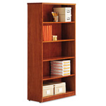 "Alera Cherry Verona Veneer Series Bookcase with 5 Shelves, 36""w x 14""d x 66""h"