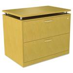 Alera SedinaAG Series Two-Drawer Lateral File, 36w x 22d x 29-1/2h, Maple