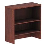 "Alera Valencia Series Hutch, 34"" w x 15"" d x 35 1/2"" h, Medium Cherry"