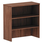 "Alera Alera Valencia Series Hutch, 3 Compartments, 34"" x 15"" x 35 1/2"", Modern Walnut"