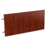 Alera Valencia Series Hutch Doors, Laminate, 15-1/2 x 3/4 x 15, Medium Cherry, 4/ST
