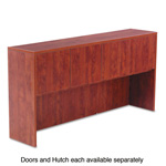 "Alera Valencia Series Four Door Set for 72""W Hutches, Medium Cherry, 17 x 15"