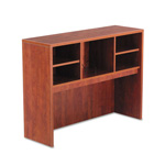 Alera Valencia Series Open Storage Hutch, Medium Cherry, 48w x 15d x 35 1/2h