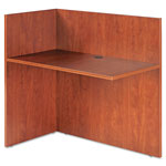 Alera Valencia Reversible Reception Return, 44w x 23-5/8d x 41-1/2h, Medium Cherry
