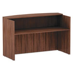 Alera Alera Valencia Series Reception Desk w/Counter, 71 x 35 1/2 x 42 1/2, Mod Walnut