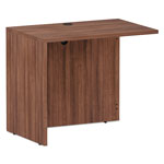 Alera Alera Valencia Series Reversible Return/Bridge Shell, 35x23.63x29.63, Mod Walnut