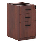 Alera Valencia Series Box/Box/File Full Pedestal, Medium Cherry, 16w x 22d x 28h