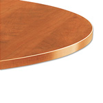 "Alera Valencia Series Round Table Top, 48"" Diameter, Medium Cherry"
