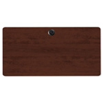 Alera Valencia Series Table Top, Rectangular, 48w x 24d, Mahogany