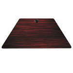 Alera Valencia Series Trapezoid Table Top, 48w x 24d, Mahogany