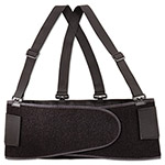 Allegro Economy Back Support Belt, Medium, Black