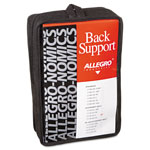 Allegro Economy Back Support, Belt Style, Large, Black