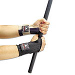 Allegro Dual-Flex Wrist Supports, X-Large, Nylon, Black