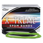"Alliance Rubber Company Rubber Bands, 7""x1/8"", Lime, 1 LB. Pack"