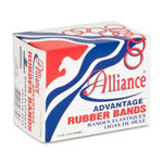 Alliance Rubber Pale Crepe Gold Rubber Bands, #33