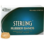 Alliance Rubber Ergonomically Correct Boxed Rubber Bands, Size 12, Approx. 3,400, 1 lb. Box
