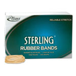 Alliance Rubber Ergonomically Correct Boxed Rubber Bands, Size 16, Approx. 2,500, 1 lb. Box