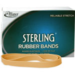 Alliance Rubber Ergonomically Correct Boxed Rubber Bands, Size 107, Approx. 50, 1 lb. Box