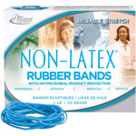 "Alliance Rubber Antimicrobial Rubber Bands, Latex Free, 3 1/2"" x 1/16"""