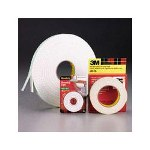 "3M Foam Mounting Double Sided Tape, 1/2"" Wide x 75"" Long"