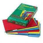 Ampad Combo Filing Kit: 12 Interior & 12 Hanging Folders, Tabs, Inserts, Legal, Colors