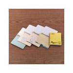 Ampad Wirebound 4 Subject Notebook, Flush Cut Dividers, College Rule, 200 Sheets
