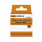Ampad Takkers Repositioning Adhesive Dots with Dispenser, Refill